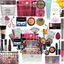 Maleta Kit De Maquiagem Completa Original Vult Ruby Rose - Glow Pink