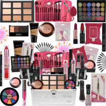 Maleta Kit De Maquiagem Completa Vult  Ruby Rose - Glow Pink