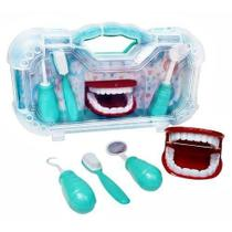 Maleta Kit Dentista Infantil Dentista 4 Peças Verde - Paki Toys - Loja Das Princesas
