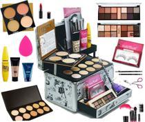Maleta Kit Maquiagem Completo Profissional Colossal - Ruby rose