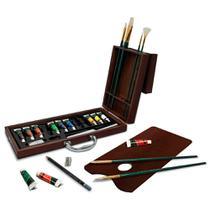 Maleta Luxo para Pintura à óleo Royal & Langnickel 24 peças - RSET-OIL2020 -