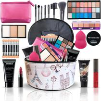 Maleta Maquiador Completa + Maquiagens Kit Luisance Bz54 Top - Bazar Web
