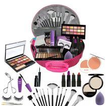 Maleta Maquiagem Completa Profissional Ruby Rose Luisance + Brindes BZ01 - Bzw