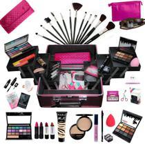 Maleta Maquiagem Completa Profissional Ruby Rose + Necessaire Rubys - Bazar Na Web