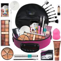 Maleta Maquiagem Completa Ruby Rose Super Completa  Bz67-2 - Bazar Na Web