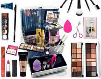 Maleta Maquiagem Completo Profissional Ruby Rose -