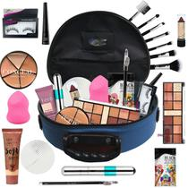 Maleta Maquiagem Mega Completa Ruby Rose Essencial Bz68-2 - Bazar Na Web