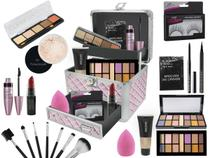Maleta Maquiagem Mega Completa Ruby Rose Essencial Ultra Top - Bazar Na Web