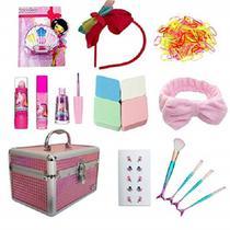 Maleta Maquiagem Rubys Infantil Conjunto Completo Criança -