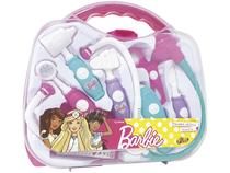 Maleta Médica Barbie Kit Fun 8 Peças -