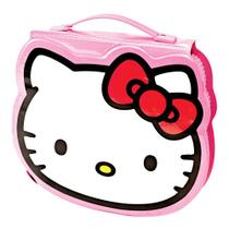 Maleta Para Colorir Pintura Infantil Escolar Hello Kitty 70 Peças - Molin