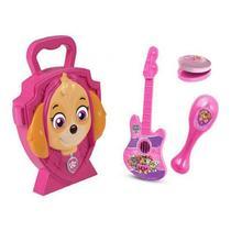 Maleta Patrulha Canina Kit Musical Da Skye Dtc 4618 -