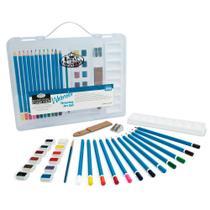 Maleta Pequena para Desenho Aquarelável Royal & Langnickel 29 peças - RSET-ART3106 -