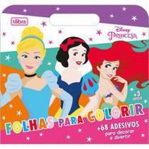 Maleta Princesas para colorir - Tilibra -