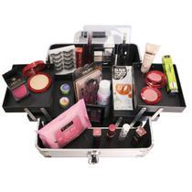 Maleta profissional de maquiagem completa 23 itens Top - Cs Make Up Store