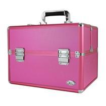 Maleta Profissional de Maquiagem Grande Boca Rosa Jacki Design -