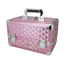 Maleta Rubys Maquiagem Profissional 1171MC Rosa -