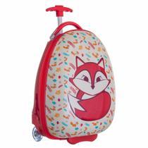 Malinha Escolar Infantil c/Rodinhas Fox Abs Resistente ys21079 - Yins