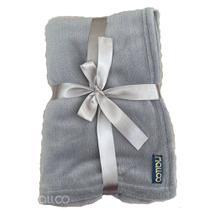 Malloo cobertor microfibra - cinza - un -