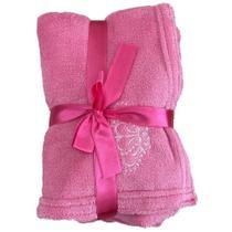 Malloo cobertor microfibra - pink - un -