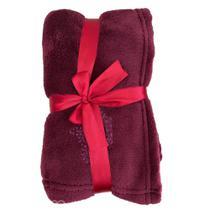 Malloo cobertor microfibra - vermelho esc - un -