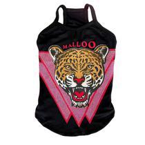 Malloo regata leopardo - preto - g -