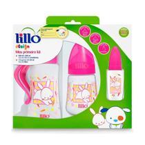 Mamadeira Lillo Design Fashion Kit 3 Pecas Rosa -
