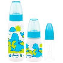 Mamadeira Lillo Kit Fases 3 Pecas Azul -