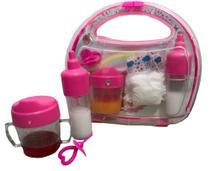 Mamadeira para boneca Kit chupeta fralda de boneca serve Baby Alive - Ed1Brinquedos
