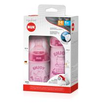 Mamadeiras My First - 150 ml e 300 ml - Rosa - Nuk -