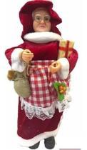 Mamãe Noel 45cm Enfeite Decoração De Natal - Chibrali