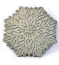 Mandala Cimento 40cm - Glass