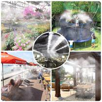 Mangueira Climatizadora Sistema Irrigacao Kit 10 M Jardim - mistcooling