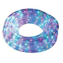 Mangueira iluminada 240 leds fio PVC 8 FUNC.220V (COLORIDO) 10 METROS - Ded