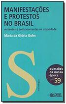 Manifestacoes e protestos no brasil - Cortez -
