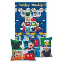 Manta Almofada Disney Jolitex Mickey -