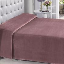 Manta Buettner King Microfibra Rose Lisa Extra Brilho 220x240cm Flannel Fleece - China