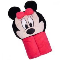 Manta Capuz Minnie Disney -