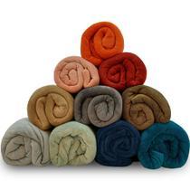 Manta Cobertor Queen 220x240cm Microfibra Soft Macia Fleece  Camesa - Emcompre -