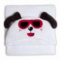 Manta de Microfibra Buettner Dog Happy  Infantil  com Capuz -
