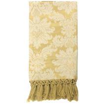 Manta de Sofá Jacquard Dourado 190x140 - Sua Casa Decor