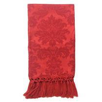 Manta de Sofá Jacquard Vermelho 190x140 - Sua Casa Decor