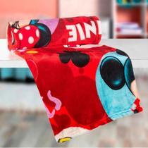 Manta Infantil 1.25 x 1.50 Super Sof Minnie Fleece Lepper -