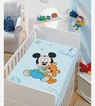 Manta Infantil Mickey com Ursinho - Jolitex
