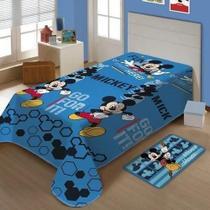 Manta Infantil Mickey Disney Sof Microfibra 1,5x2,0 Jolitex - Lepper