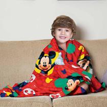Manta Infantil Mickey Fleece Lepper -