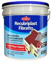 Manta Liquida Impermeabilizante Para Telhado E Laje Fibratto Cor Telha 12 Kg - Sinteplast