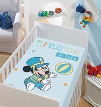 Manta Microfibra Disney Mickey Azul Jolitex -