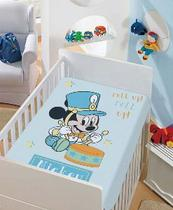 Manta Microfibra Infantil 0,80m x 1,10m Mickey Roll Up Disney - Jolitex