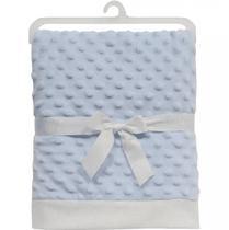 Manta Para Bebe algodão doce Azul - Buba